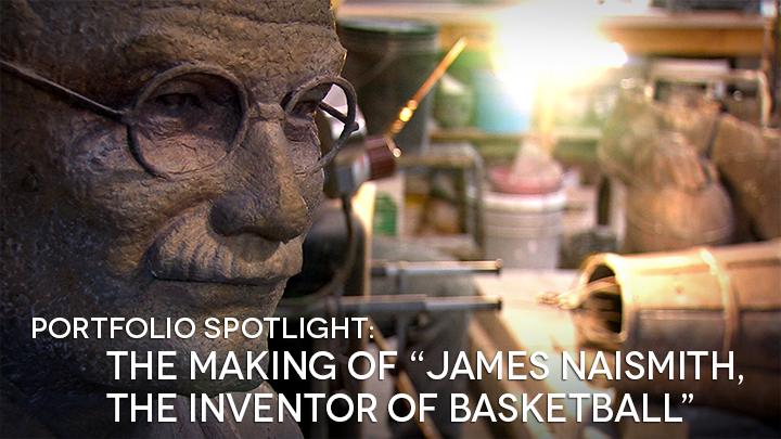 James Naismith Sculpture